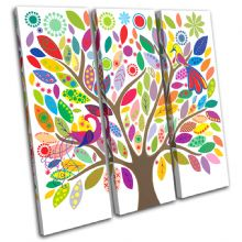 Colourful tree Illustration - 13-0340(00B)-TR11-LO